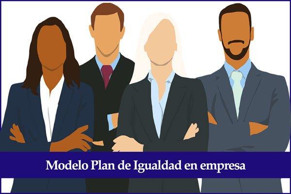 modelo plan de igualdad