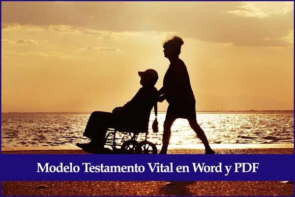 modelo testamento vital