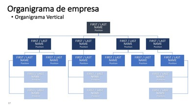 organigrama de empresa